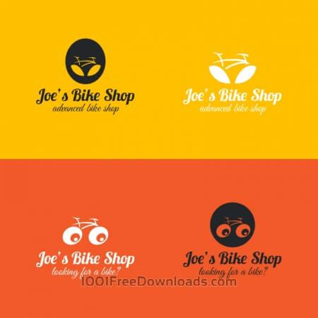 Bicycle logos design