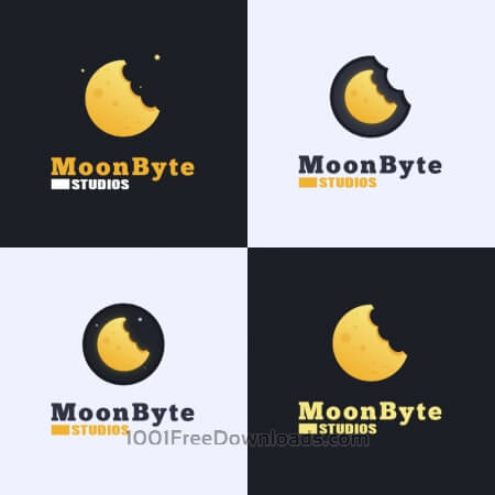 Moon Byte Logo Design