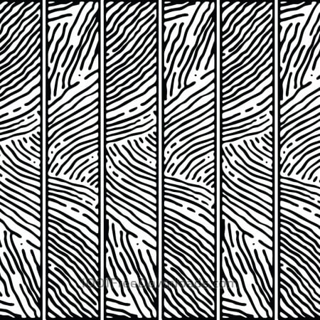 Hand Drawn Lined Pattern