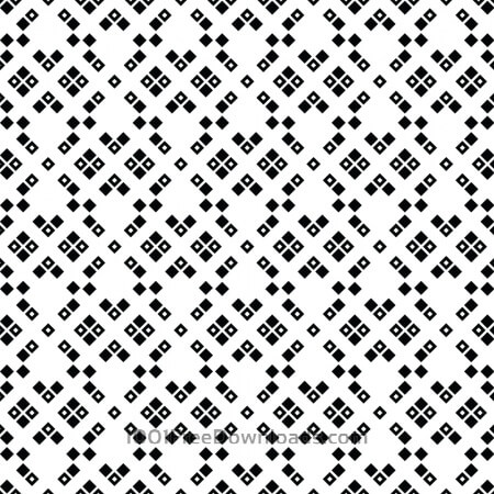 Black and White Squared Pattern