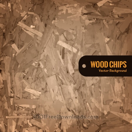 Wood Chips Vector Background