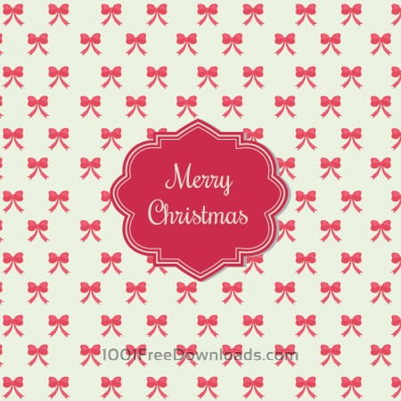 Christmas background with badge