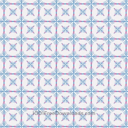 Christmas pattern with snowflakes
