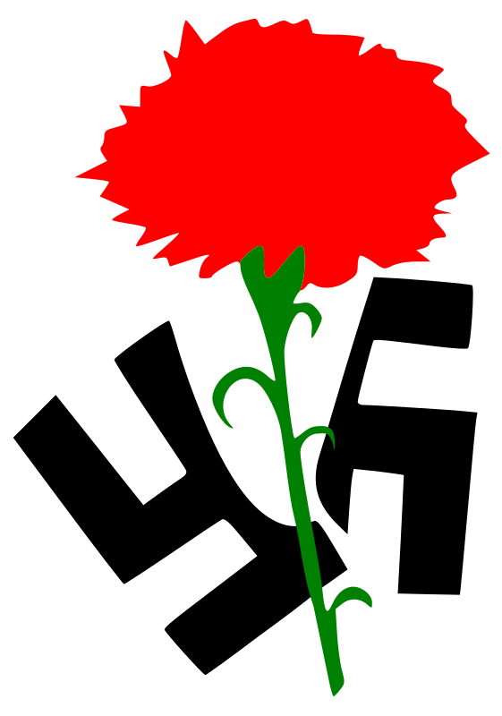 Free Clipart: Carnation against Fascism | People height=623