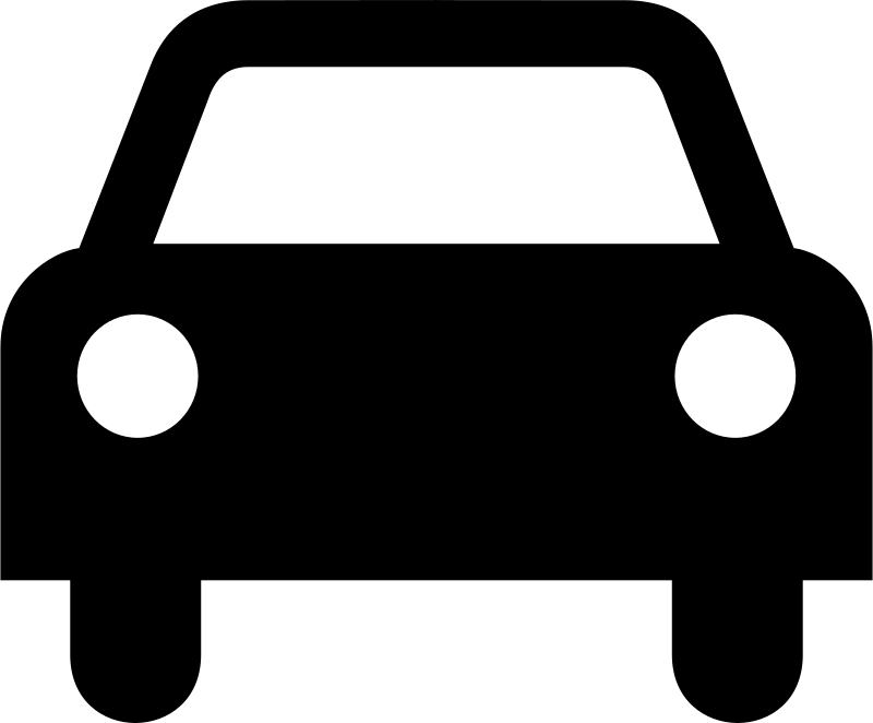 Free car silhouette icon vector 17