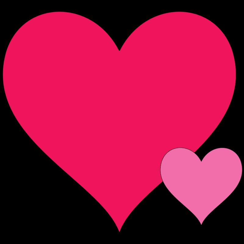 clip art double hearts free - photo #21