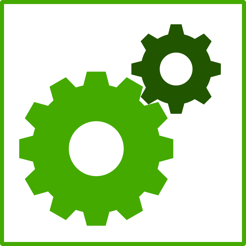 clipart free gear icon - photo #49