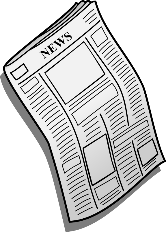Free Clipart: Newspaper | Objects