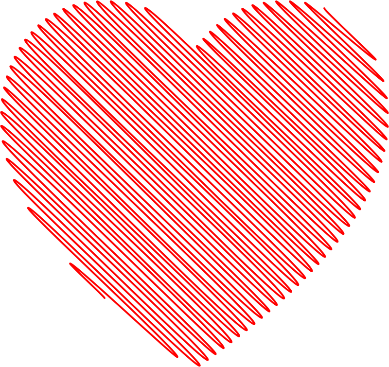 Free Clipart: Scribble Heart | Symbol