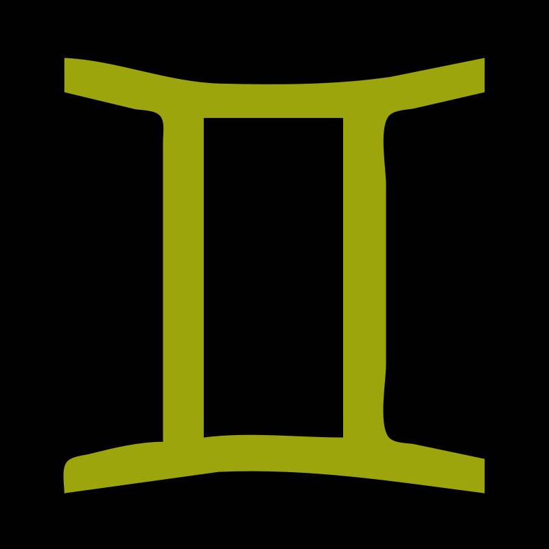 Free Clipart: Gemini (Homestuck)
