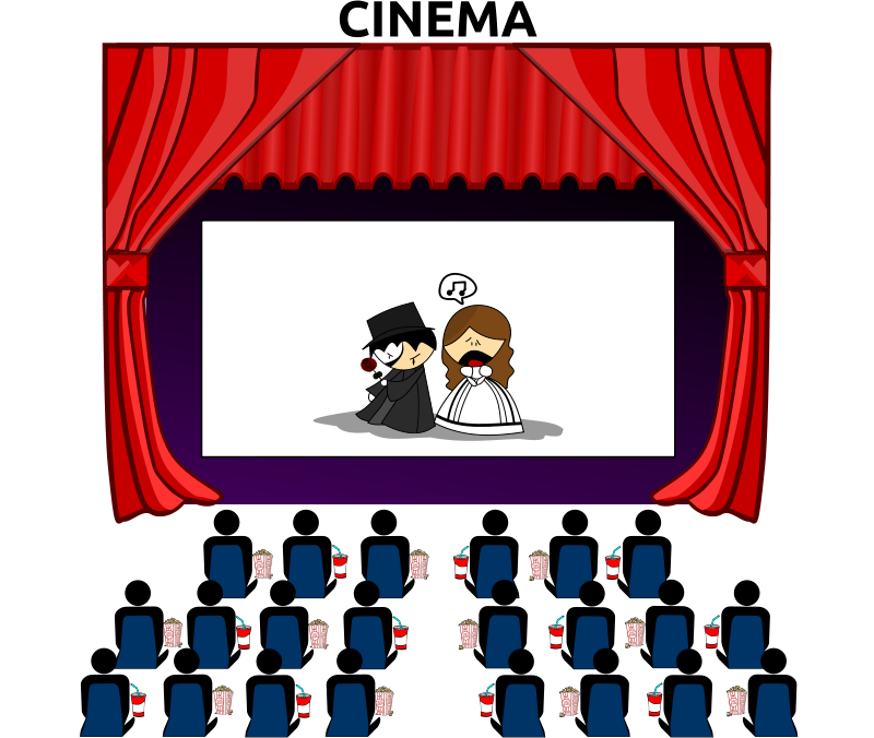 Free Clipart: Cinema | Merlin2525