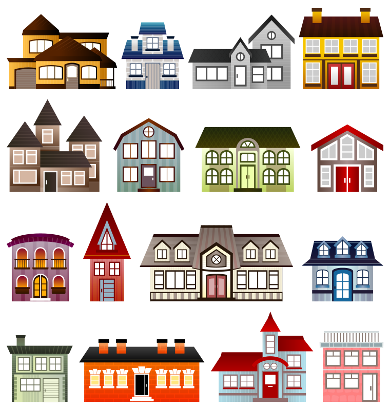 Free Architecture Clipart - Popular - 1001FreeDownloads.com