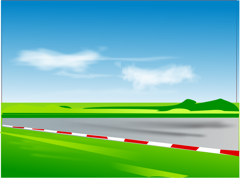 Racing Road Clipart Free Clipart Race Track